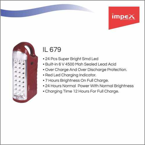 IMPEX Rechargeable LED Lantern (IL 679)