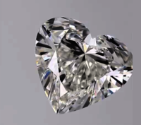CVD Diamond 2ct G VVS2 Heart Shape IGI Certified Stone