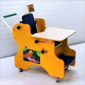 C.P. CHAIR with Activity Tray and Incline-able Seat & Back.