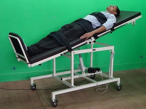 IMI- 3121 Tilt Table, Adult, 61cm Wide Top (Electric Operated With Activity Tray)