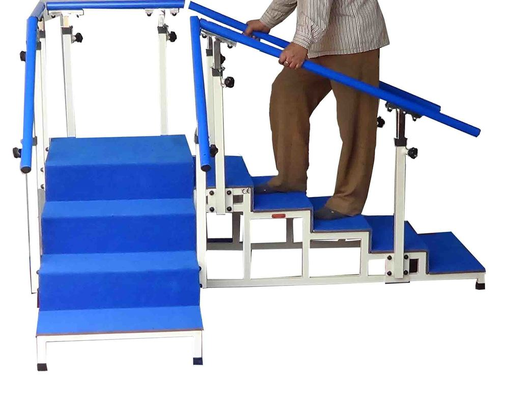 Exercise Staircase With Tubular Base Corner Type 60 Cm Wide