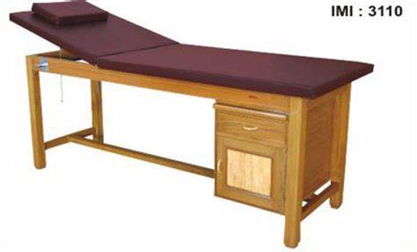 Examination Treatment Couch Wooden With Storage