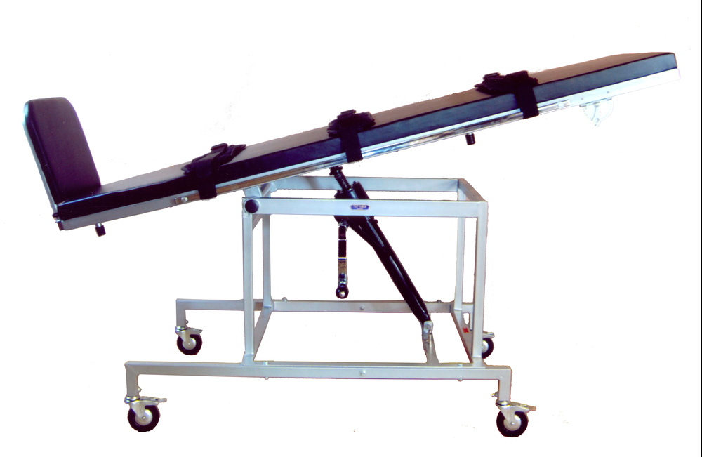 TILT TABLE, Adult, Manually Operated.