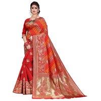 Festival Banarasi Heavy Silk Saree With Thread Work