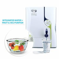 HUL Pureit Marvella Mineral RO + UV with Fruit & Veg Purifier 7 Stage Table Top/Wall Mountable White & Blue 8 litres Water Purifier