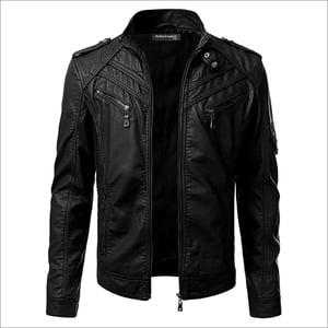 Synthetic Mens Leather Jackets