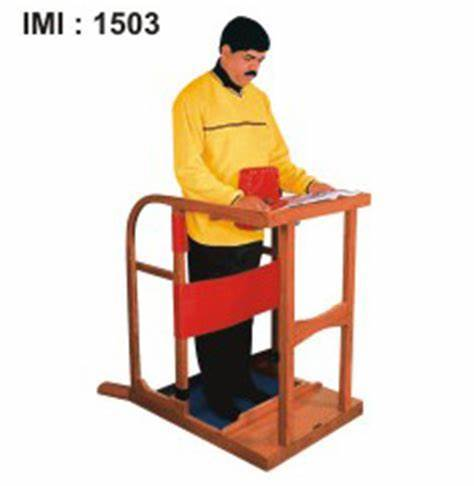 IMI-1503 STAND IN FRAME Adult with Foam Padded Wooden