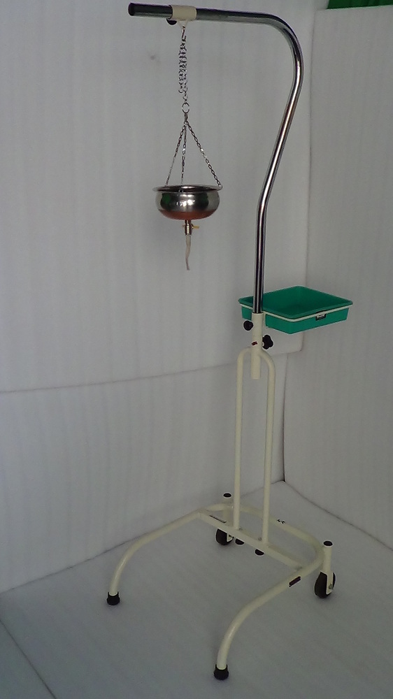 Shirodhara Stand Metal Frame With Ss Pot