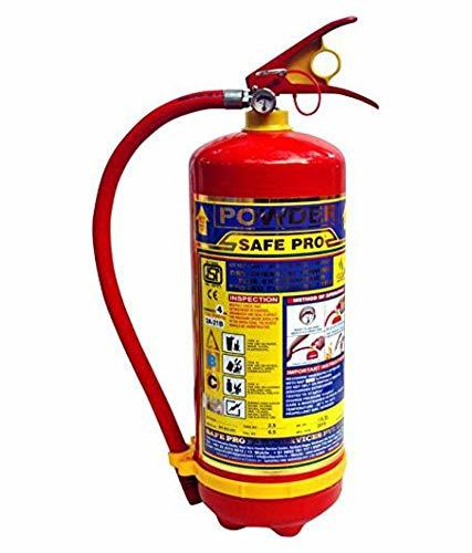 SafePro 4 KG ABC Powder Type Fire Extinguisher