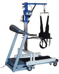 Un-Weigh Mobility Trainer Un-Weighing System With Treadmill