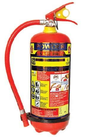 SafePro 9 KG ABC Powder Type Fire Extinguisher
