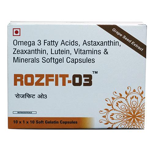 Omega-3 Multivitamin capsules