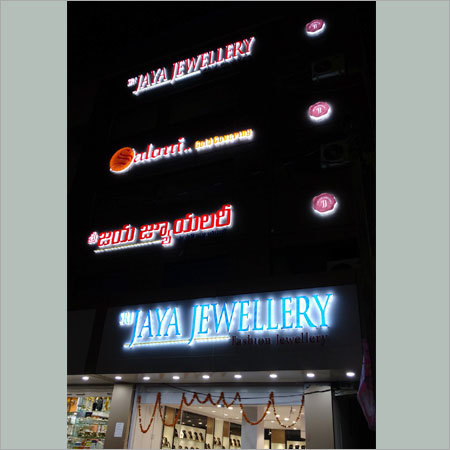 Shop Branding LED Signage