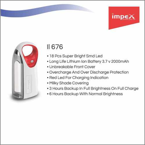 IMPEX LED Emergency Light (IL 676)