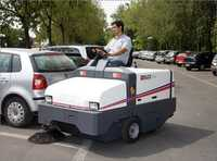 Plant  University Roads Sweeper Machine