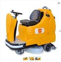 Industrial Ride On Floor Scrubber Drier Machine