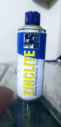 Zinc Lite Spray (Light Content Zinc Coating Spray ITW Chemin)