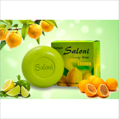 Saloni Lemon Bath Soap