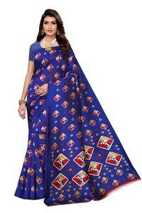 Fancy Kalamkari Silk Saree