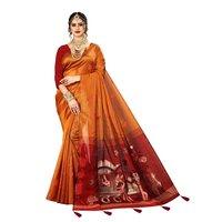 Heavy  Rich Pallu Banarasi Silk saree   & Thread Work