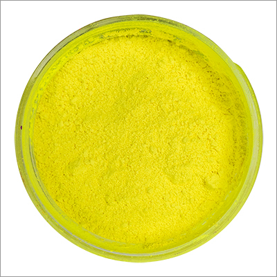 Fluorescent Yellow Pigments