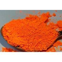 Fluorescent Golden Orange Pigments