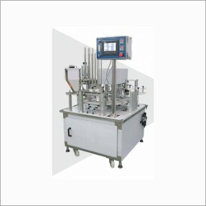 Automatic Rotary Type Cup Filling and Sealing Machine