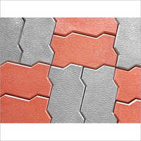 Zigzag Paver Floor Block
