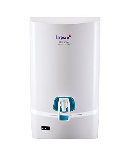 Livpure Pep Star Ro+Uv+Uf+Te Water Purifier (White)