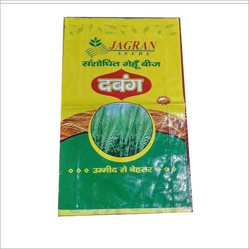PP Laminated Wheat Bag
