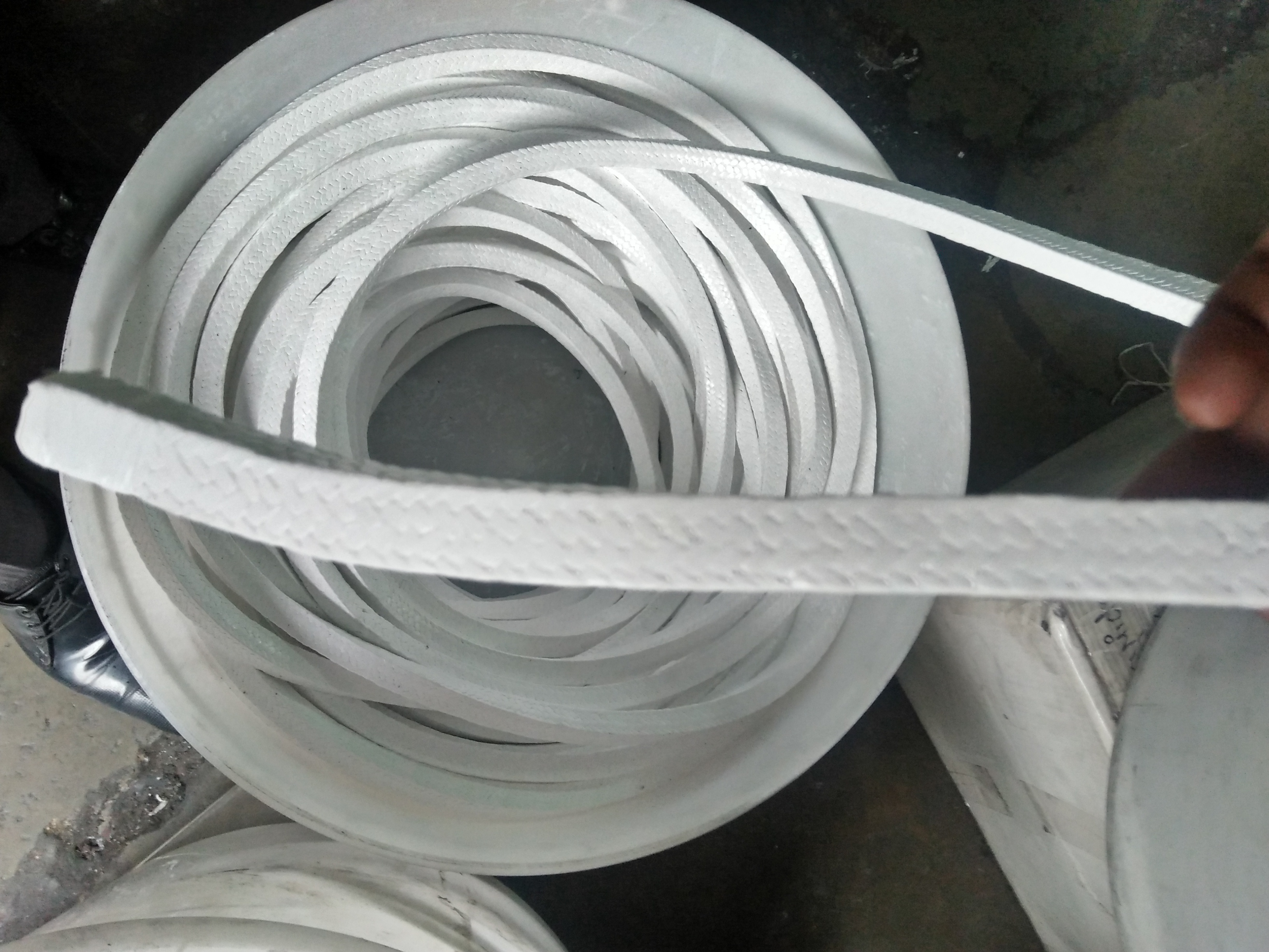 TYCOON GLAND PACKING EXPANDED GRAPHITE PTFE GLAND PACKING WITHOUT OIL