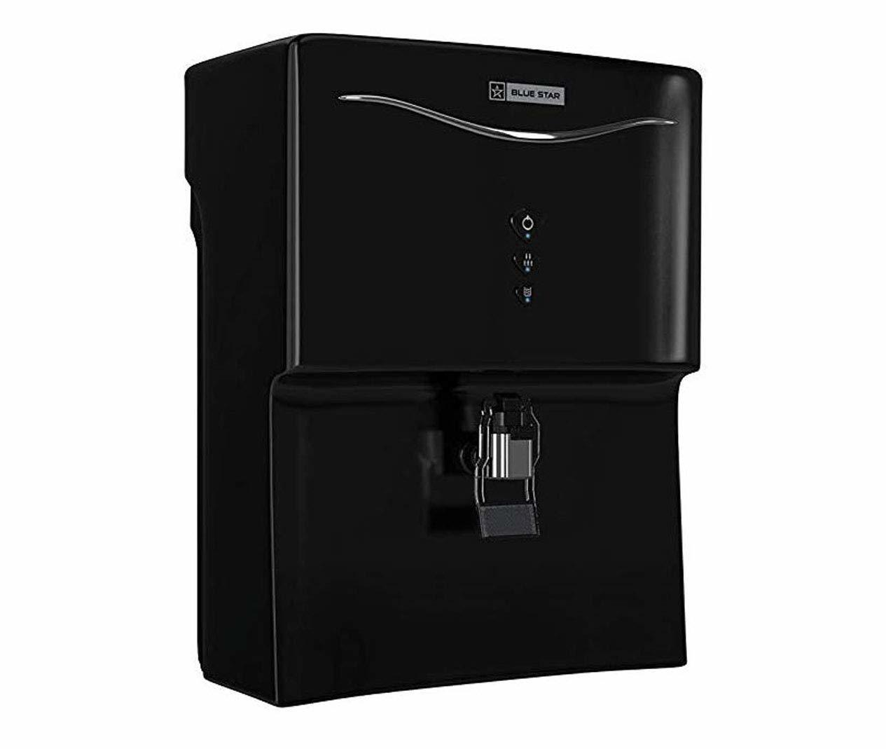 Blue Star Aristo RO+UV+UF AR5BLAM01 7-Liter Water Purifier, Black