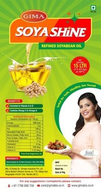 Soyabean Refined Oil (15 kg Tin)