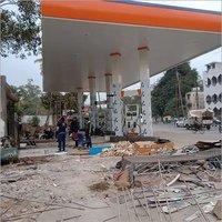 Petrol Pump Canopy Work