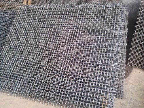 High Carbon Spring Steel Crimped Wire Mesh