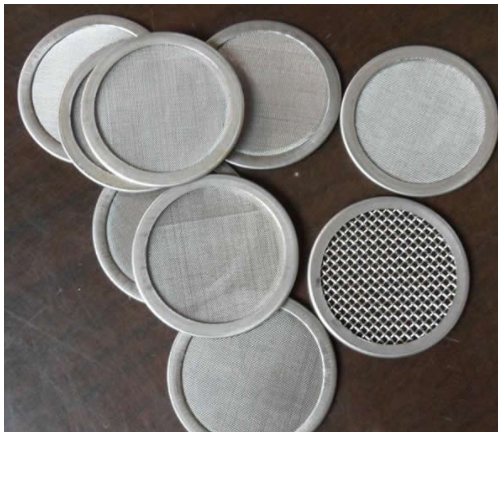 Wire Mesh Filters For Plastic And Rubber Extruder