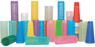Perforated Dye Cones
