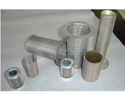 Perforated Filter Tubes