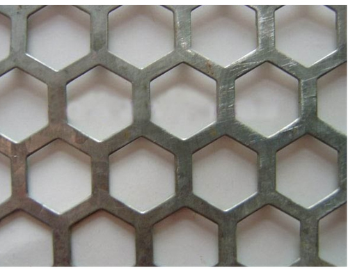 Perforated Sheets With Hexagonal Hole