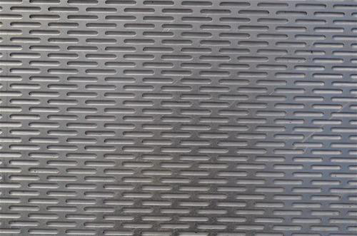 Perforated Sheets With Oblong Hole