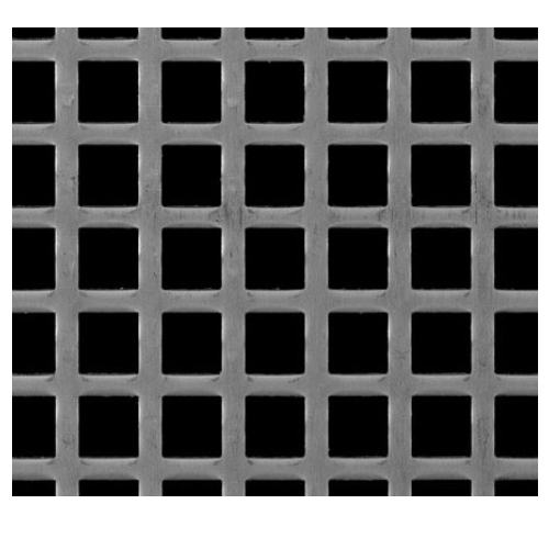 Perforated Sheets With Square Hole