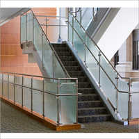Glass Work S S Staircase Railings