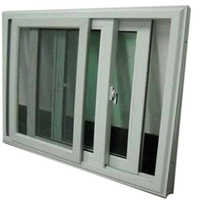Aluminium Domal Sliding Window Door