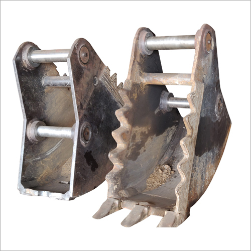 Jaws of Earthmoving Machine