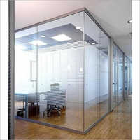 Office Partition Toughened Glass