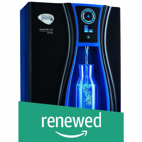 (Renewed) Pureit Ultima Mineral 10-Litre RO+UV Water Purifier