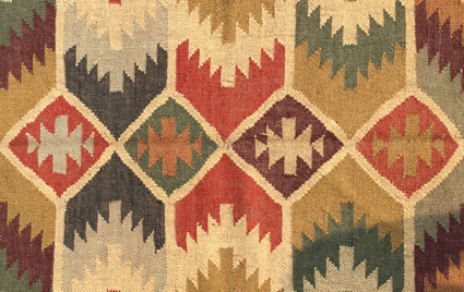 Kilim Wool Jute Carpet