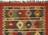 Oriental Wool Jute Rug