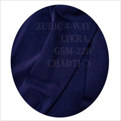 4 Way Polyester Lycra Fabric