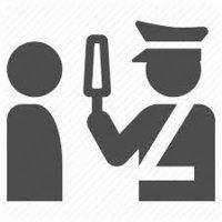 Hand Held metal Detector For Industrial Security